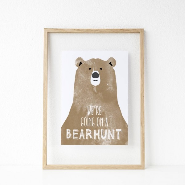 We're Going On A Bear Hunt' Print By Mai & Moo