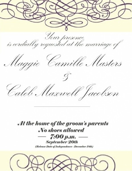 Printable You Have Been Cordially Invited Template Yourweek