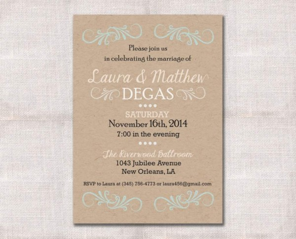Reception Only Wedding Invitations Wedding Reception Only