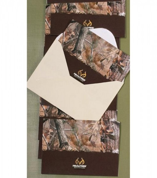 Shop Realtree Ap Camo Note Cards Invitations With Envelopes By