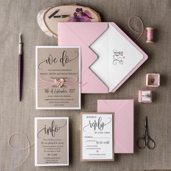 Affordable Wedding Invitation Sets Or Invitation Sets Wedding