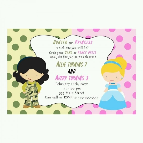 30 Invitations Birthday Party Personalized Camouflage Fancy Dress