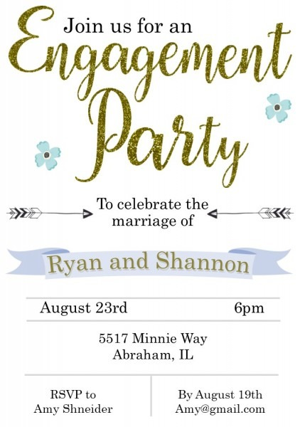 Engagement Party Invitations New Selections Spring 2019