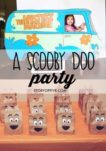 June & Scarlett's 3 & 4th Scooby Doo Birthday Party