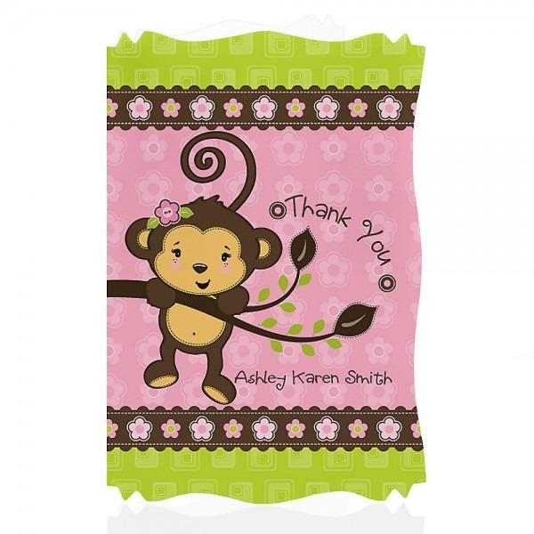 Baby Shower  Baby Shower Monkey Invitations  Baby Shower