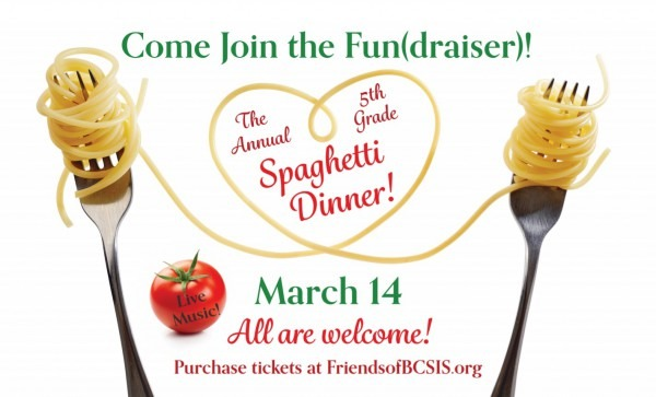 Spaghetti Dinner – Friends Of Bcsis