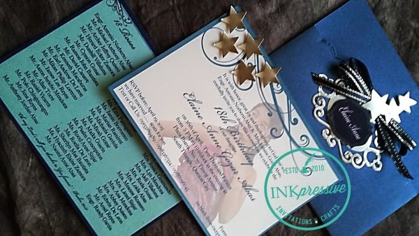 Starry Night Debut Invitation From 4 To Get Ideas How To Make Your