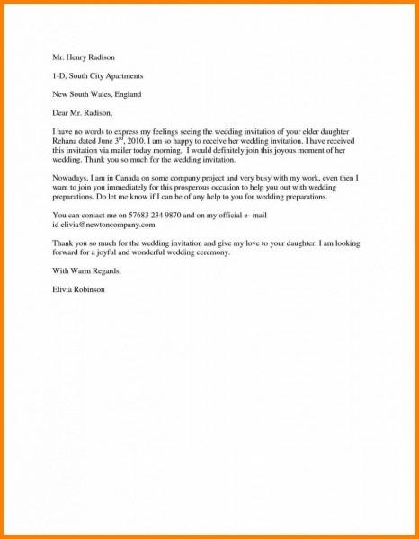 Invitations   Surprising Wedding Invitation Letter Formal Samples