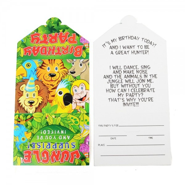 Buy Bai Peng Child Birthday Invitation Cards Birthday Invitation