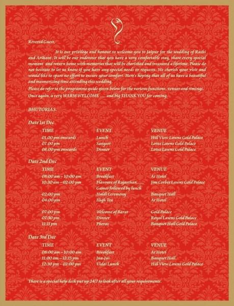 Vastu Puja Invitation Card