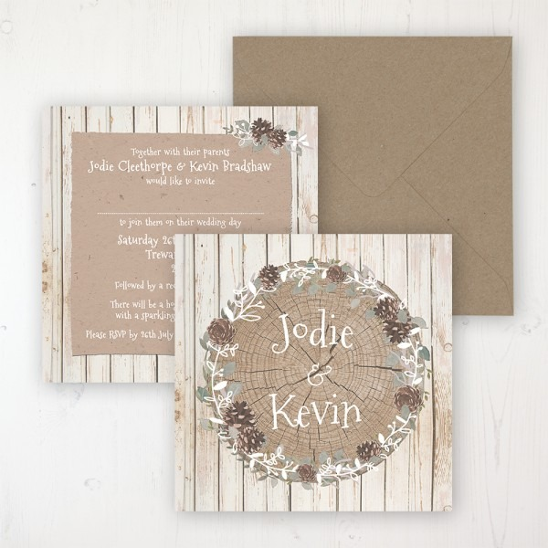 Wild Woodland Wedding Invitations