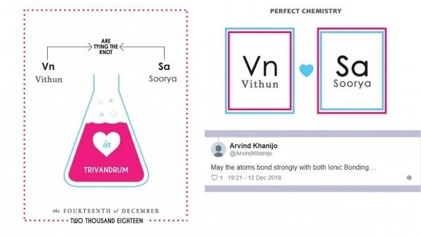 Couple's Chemistry Wedding Card Leaves Shashi Tharoor Impressed