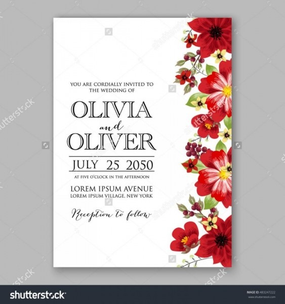 Invitation Card Psd Format Free Download