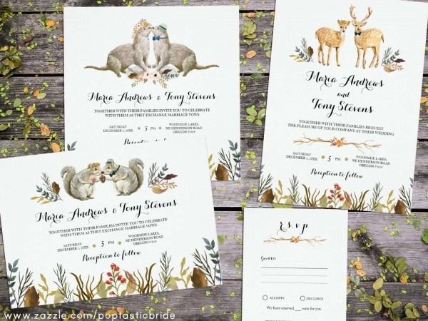 Wedding Invitations Woodland Theme From I Combined With Your Ideas