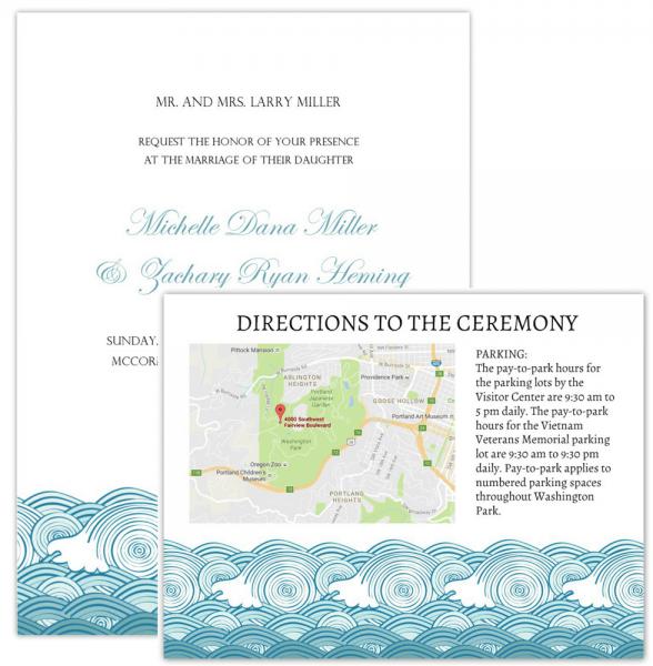 Wedding Invitation Maps