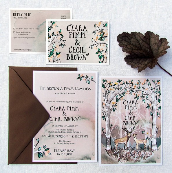Woodland Wedding Invitation From Festdude And Get Ideas To Create