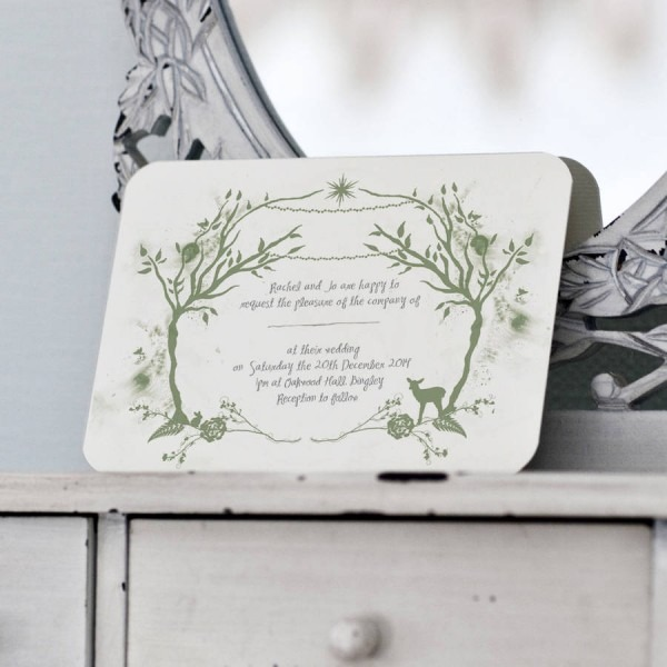 Woodland Wedding Invitation From Festdude And Get Inspiration To